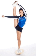Mae Flyer #Cheerleading wish I could do this