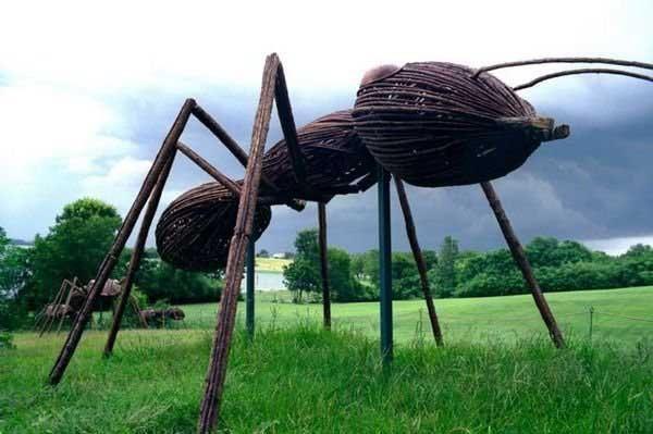 giant ants...: Sculpture, Ants Outdoor, Heritagemuseumsandgardens Org, Idea, Cape, Art, Big Bugs, David, Heritage Museums