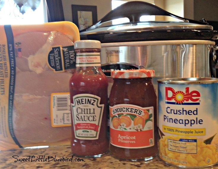 Sweet Little Bluebird: Crock Pot Sweet and Sour Chicken - Four Ingredients