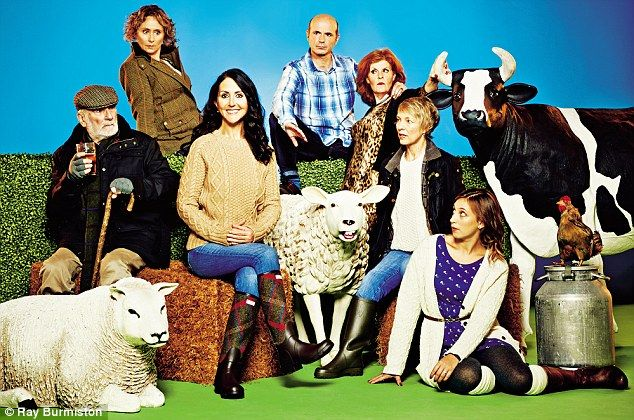 Look who's joined #TheArchers: Liz Jones sets the tongues wagging in Ambridge
