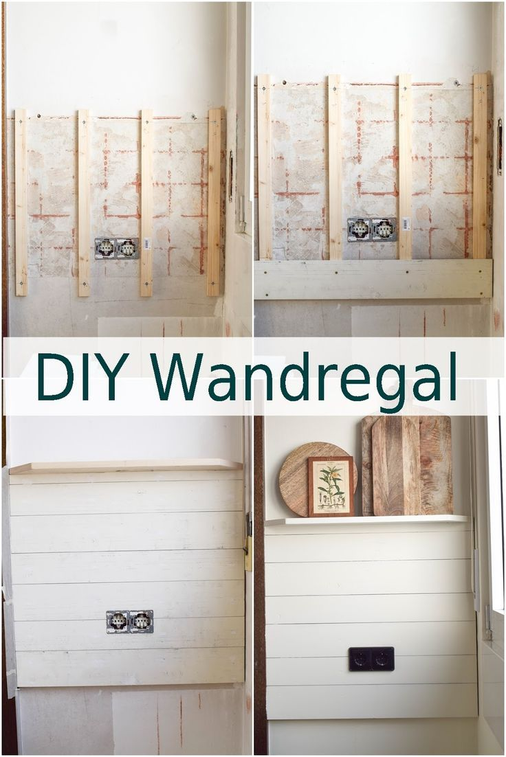 Diy Wandverkleidung Holz Selbermachen Renovierung Kuche Landhaus Country Kitchen Wandverkleidung Holz Diy Wandregal Wandregal