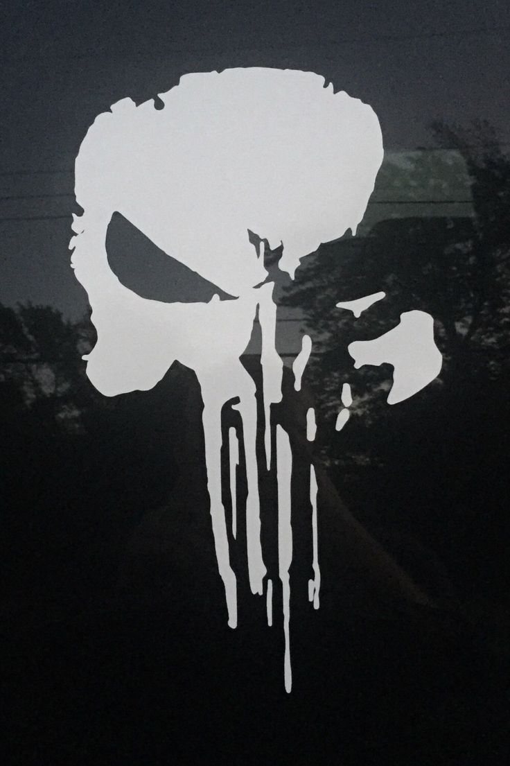 A personal favorite from my Etsy shop https://www.etsy.com/listing/399037537/punisher-skull-car-vinyl-inspired-from