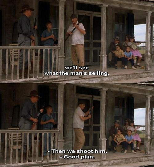 Secondhand Lions.