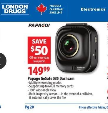 Good deal is kicking off in Canada now. Don't miss it if you are close by.  #papago #dashcameras #londondrug http://www.londondrugs.com/store-flyers/eflyer-wi.html?auto_locate=true&share_flyer_item_id=228911048&type=1&postal_code=V5H4L7&flyer_type_name=special #dashcam #EpicFail #dashcamvideos #roadrage #insane #deathwish