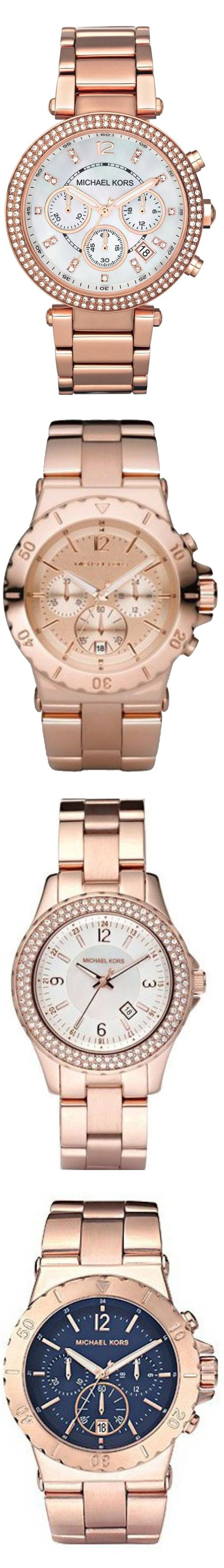 Michael Kors Rose Gold Watches