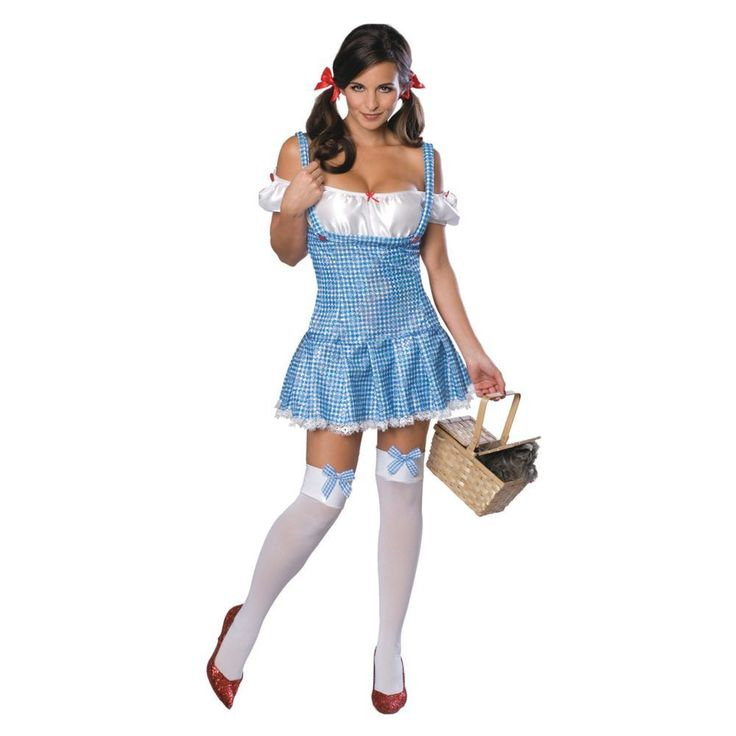 Wizard of Oz Dorothy Halloween Costume for Women - Large
