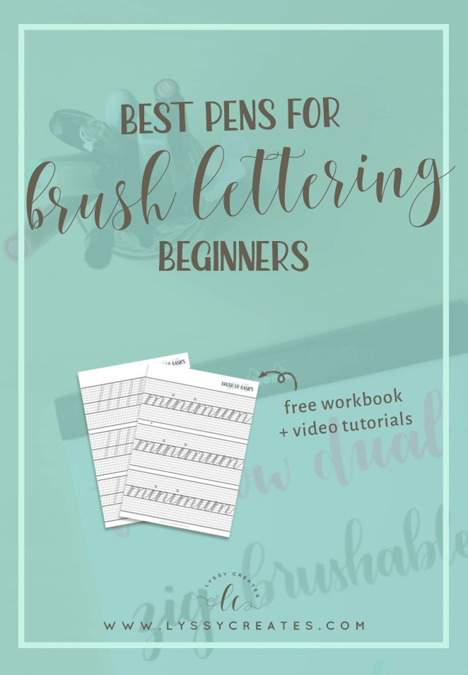 You just need brushes, paint and paper for brush lettering... Right? Nope, calligraphy pens are huge! But which are the best calligraphy pens for beginners?