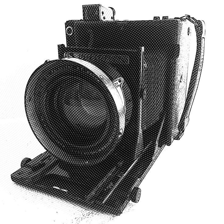 Graflex Speed Graphic + Kodak Aero-Ektar f:2.5 178mm