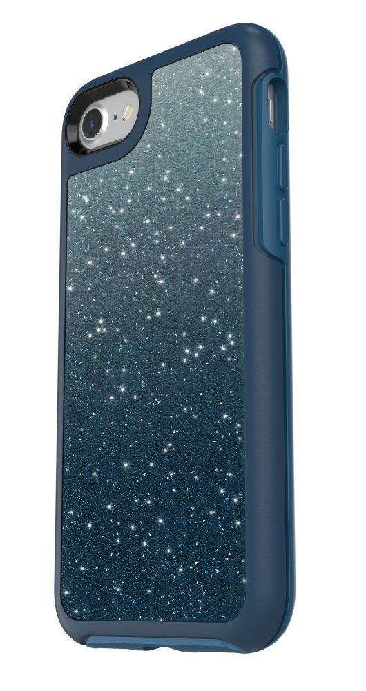 low priced e9f93 16e22 Otterbox Symmetry Crystal Edition Blue - iPhone 8, iPhone 7, iPhone ...