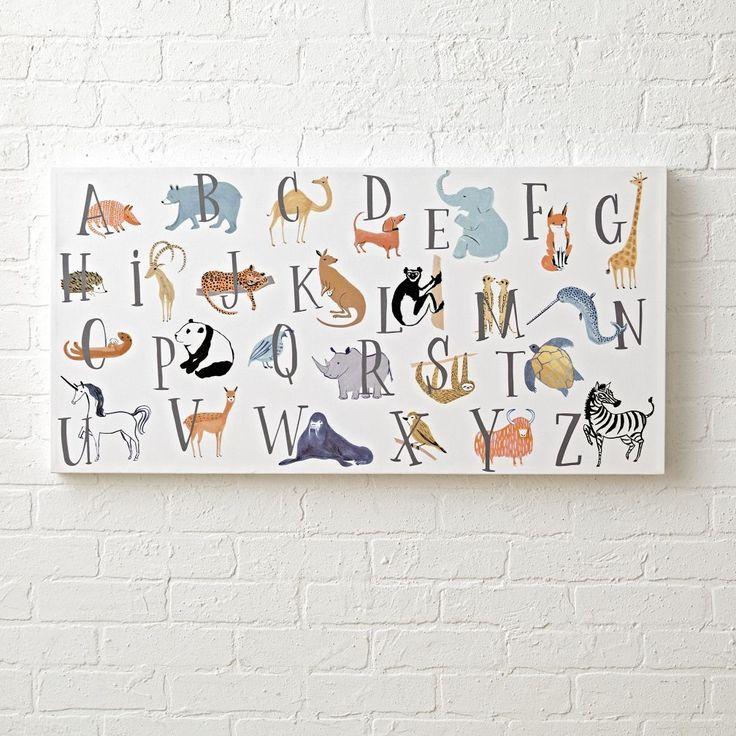 Best 25+ Alphabet wall art ideas on Pinterest | Childrens ...