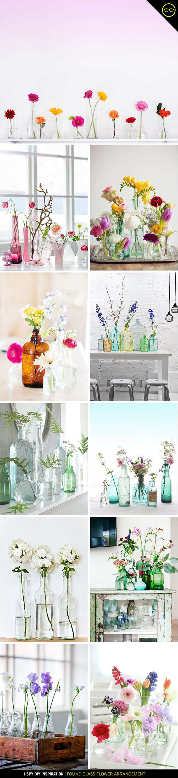 Every time I go into a secondhand store, I can't help but walk out with a new glass vase or...