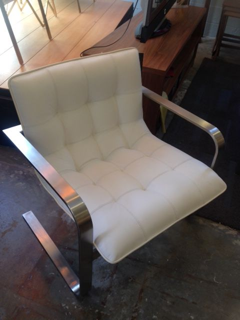 Cordoba Lounge Chair White $975 Direct Furniture Outlet 1005 Howell Mill  Rd. Atlanta, GA