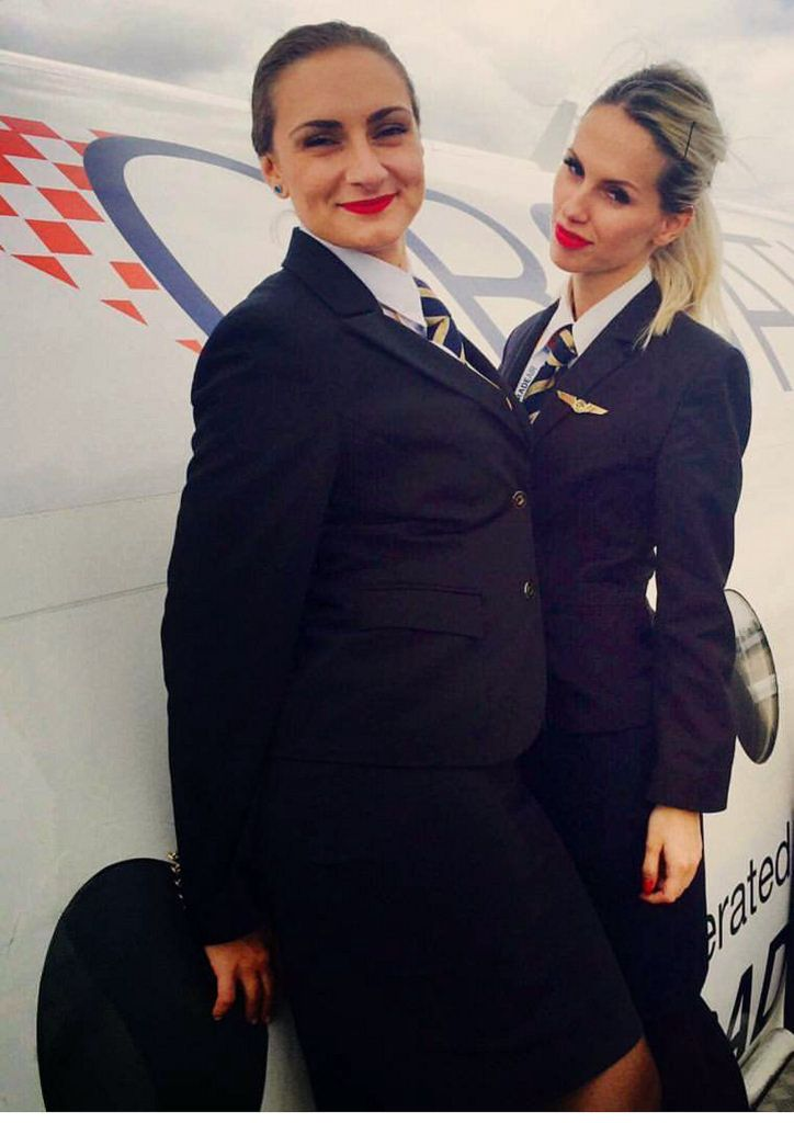 cover letter flight attendant%0A Stewardess Dressed For Work