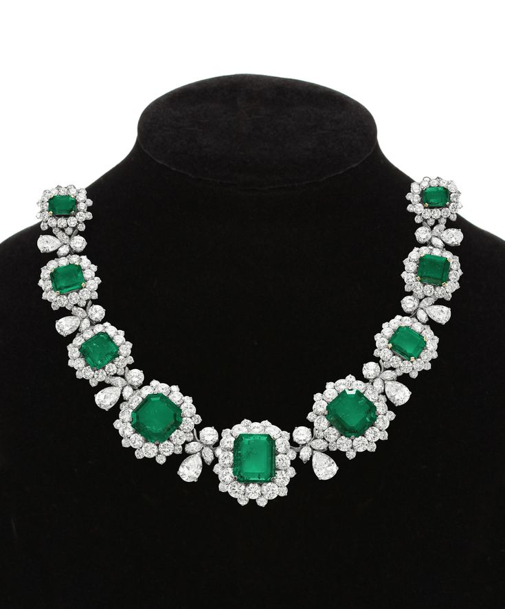 Images For > Real Emerald Necklace