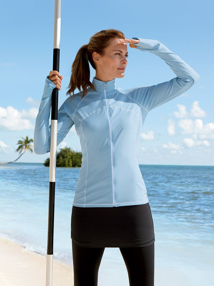 Shop women's uv sun protection clothing. With sun protective clothing, as long as the fabric covers your skin you are protected all day long. ExOfficio.