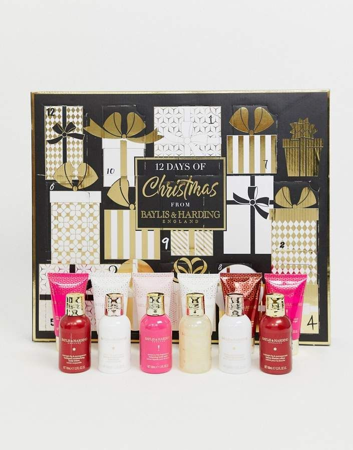 Baylis Harding Signature Assorted 12 Days Of Christmas Advent Calendar Christmas Advent Calendar Christmas Advent Christmas Gift Sets