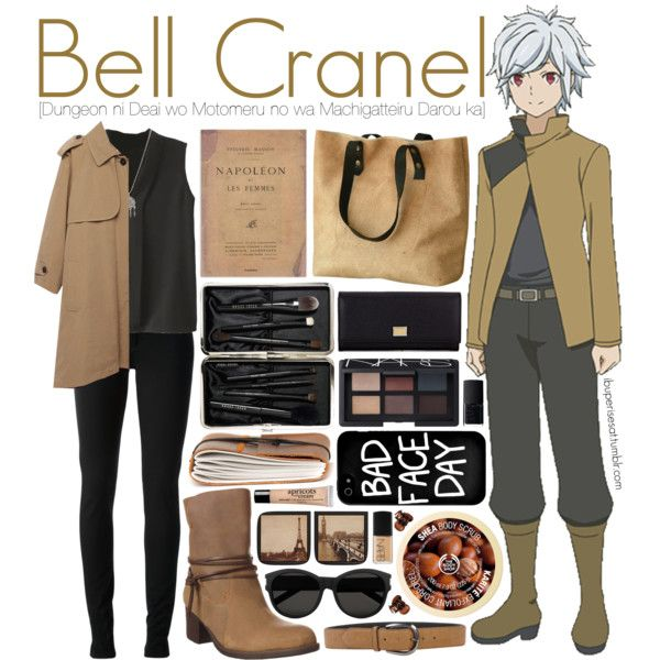 Bell Cranel [Dungeon ni Deai wo Motomeru no wa Machigatteiru Darou ka] by anggieputeri on Polyvore featuring Band of Outsiders, Gucci, Sporto, Dolce&Gabbana, With Love From CA, Local Heroes, Yves Saint Laurent, Paolo Vitale, H&M and Bobbi Brown Cosmetics