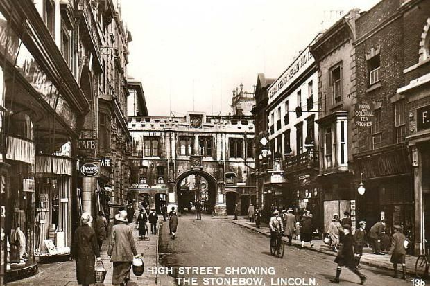☆Lincoln High Street 1930s ☆