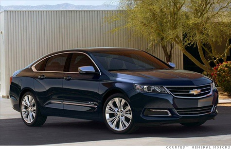 Here it is, peeps...the 2014 Chevrolet Impala! And it is a beauty...makes my 2009 look like a total POS.