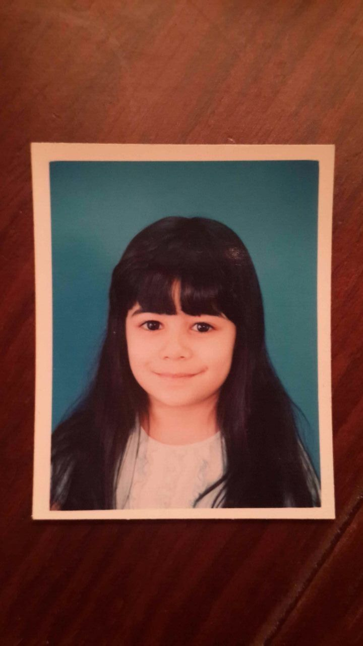 """I've known her for 4 year,and this is her childhood picture,im gonna keep it as long as i breathe cause she is the most """"any good adjective""""in my life:)"""