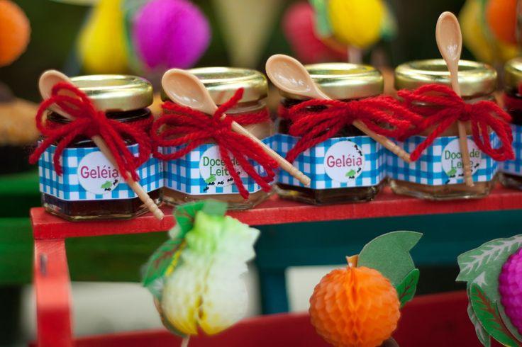 Rótulo doce no pote Festa Picnic | Design Festeiro