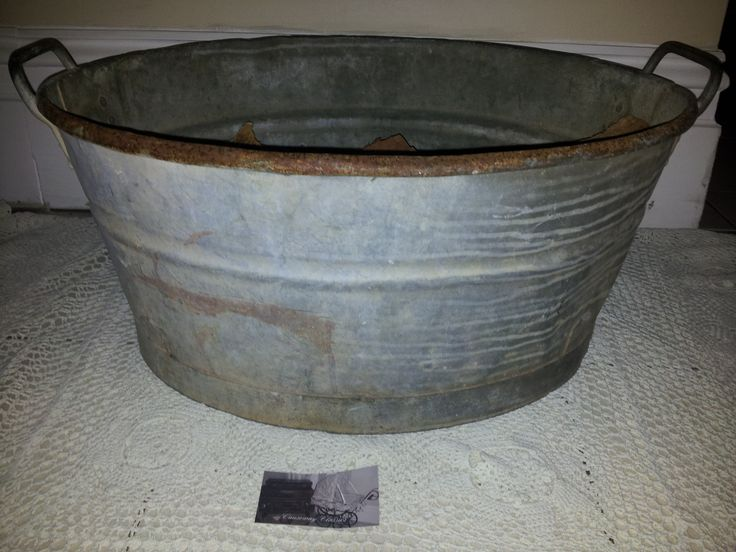 old wash tub great photography prop