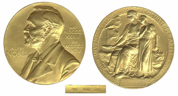 Alan Lloyd Hodgkin's 1963 Nobel Prize medal was recently sold at auction.