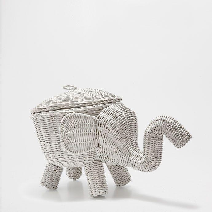 Elephant Shaped Basket Baskets Decoration Zara Home