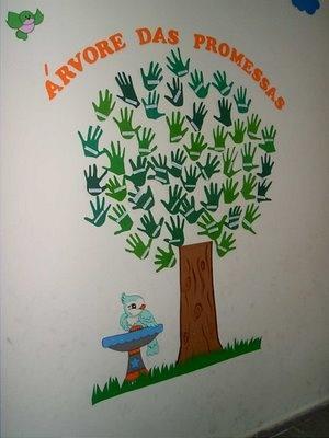 árvore mãos