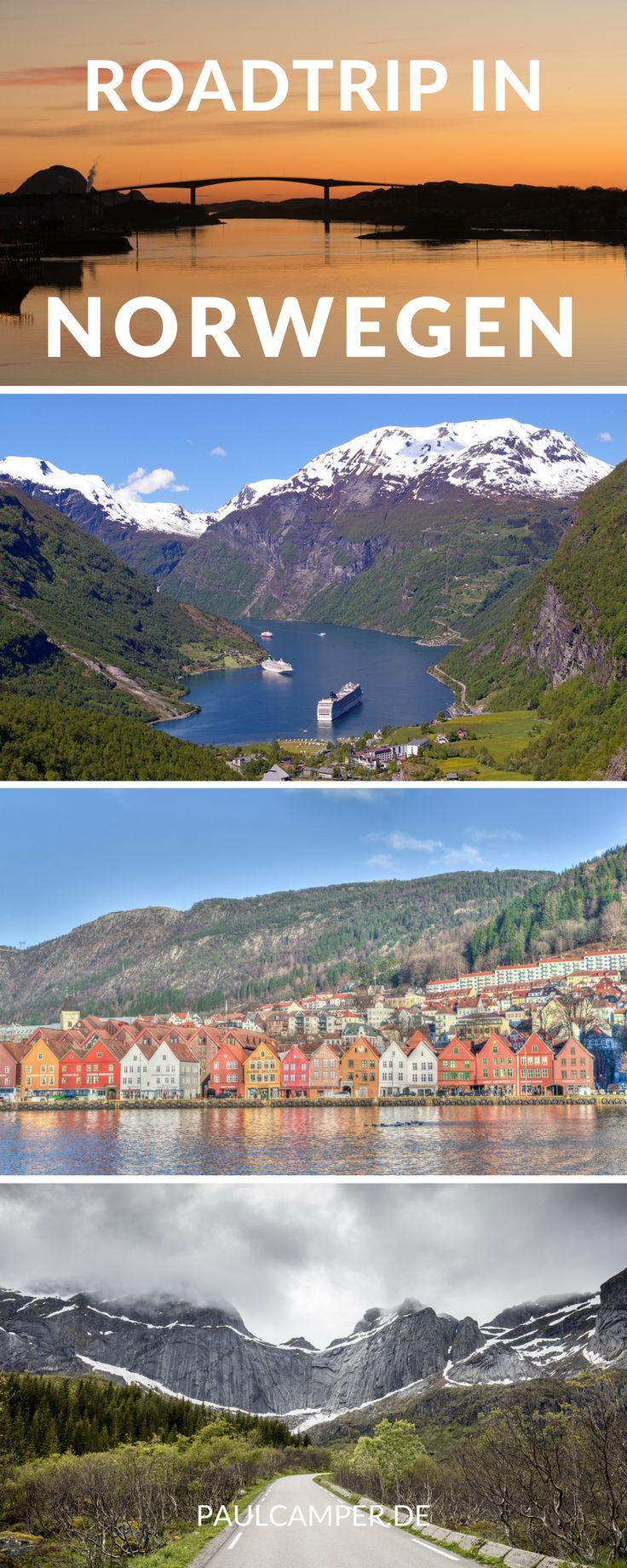 Roadtrip in Norwegen: Die perfekte Route für einen unvergesslichen Roadtrip durch Norwegen. Mit vielen Infos und Tipps zur Reise.