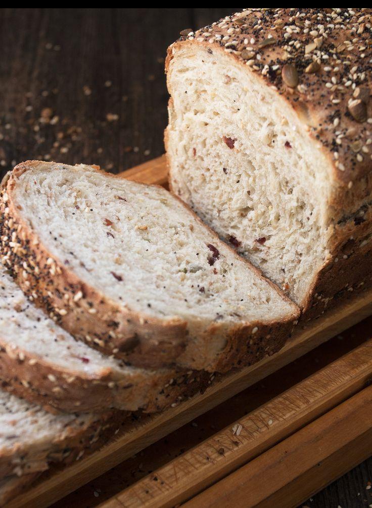 Seeded Multigrain Sandwich Bread.