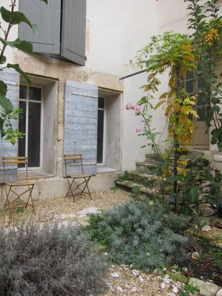 a Provence back yard
