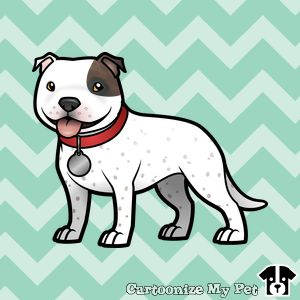 Cute cartoon staffy | Staffies, Amstaffs & Pitbulls ...