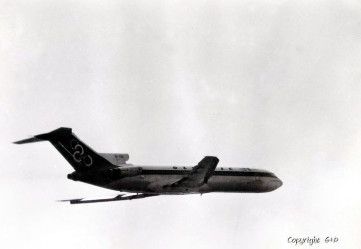 Olympic airways Boeing 727-284 (Mount Parnassus) [SX-CBC], 1984 Milano-Linate
