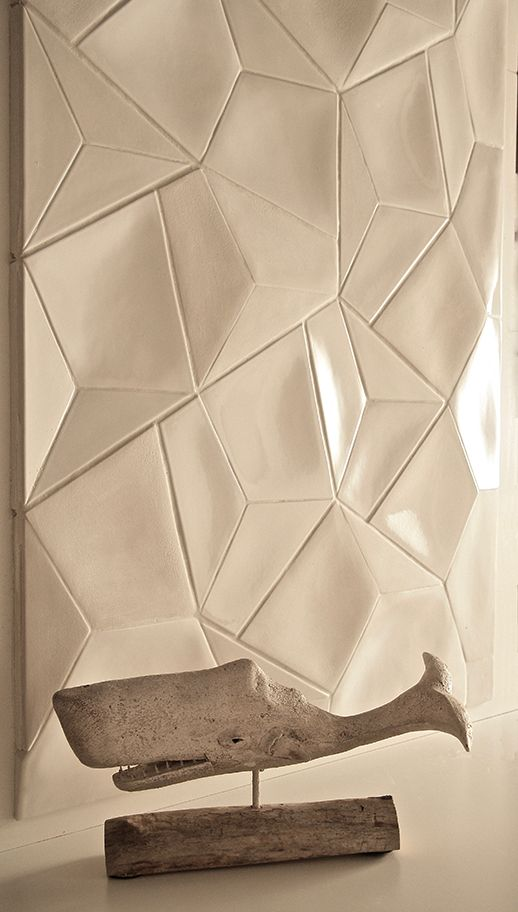 Trilogy Collection, the world first 3D porcelain Tile Collection. — Giovanni Barbieri