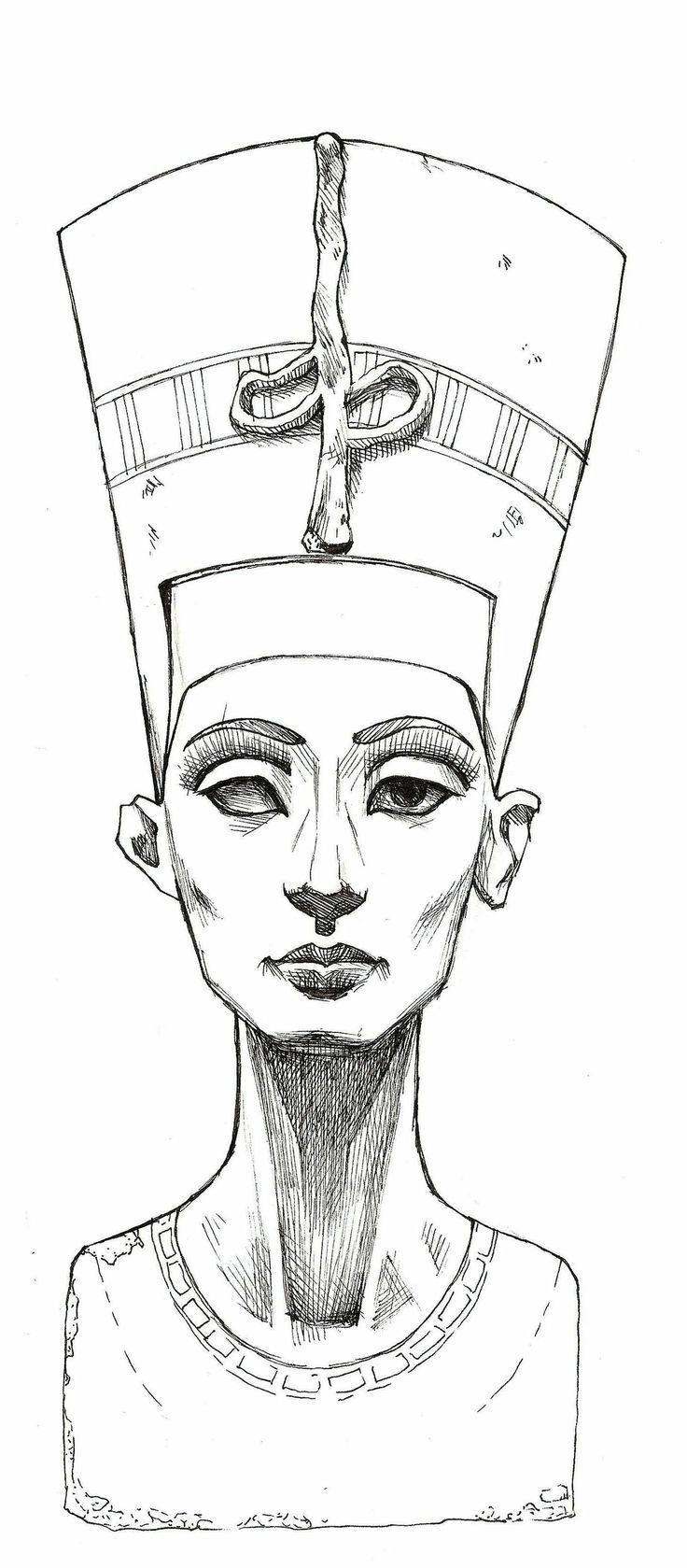 Cleopatra tattoo sketch                                                                                                                                                                                 Más