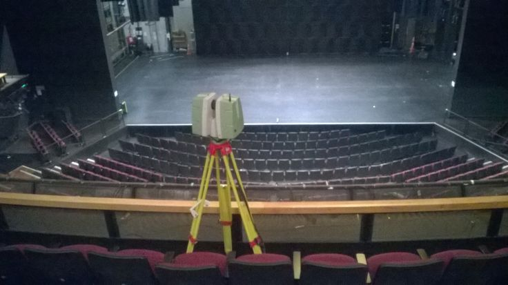 Scanning the theatre