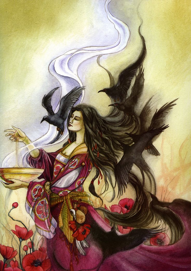 stephanie law_dreamscapes2_the witch_morgan le fay.jpg (1129×1600)