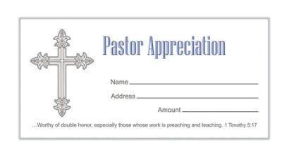 Pastor Appreciation: God Bless You Pastor (Jeremiah 3:15, KJV) Bulletins, 100