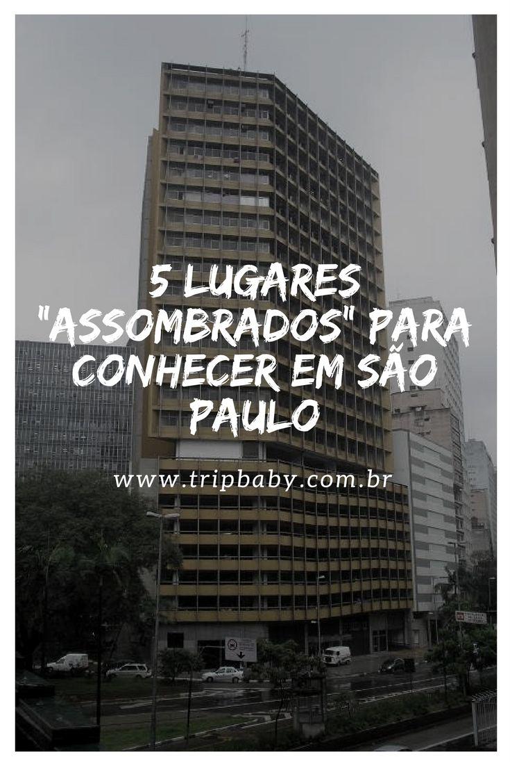 """No clima de Halloween, 5 lugares """"assustadores"""" para conhecer em São Paulo."""