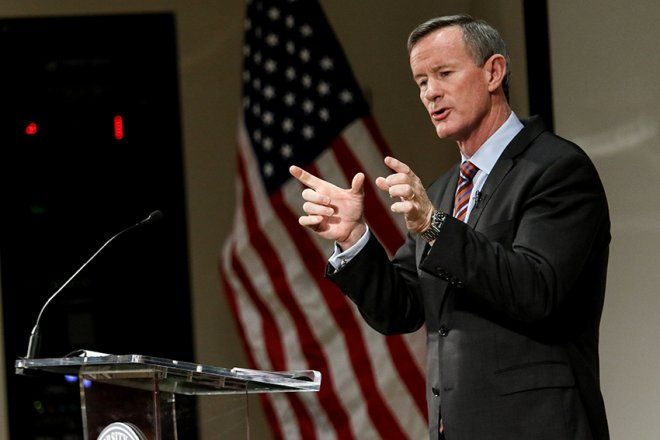 William McRaven, a former U.S. Navy admiral, became the first and only UT System chancellor to get hired on a contract three years ago.