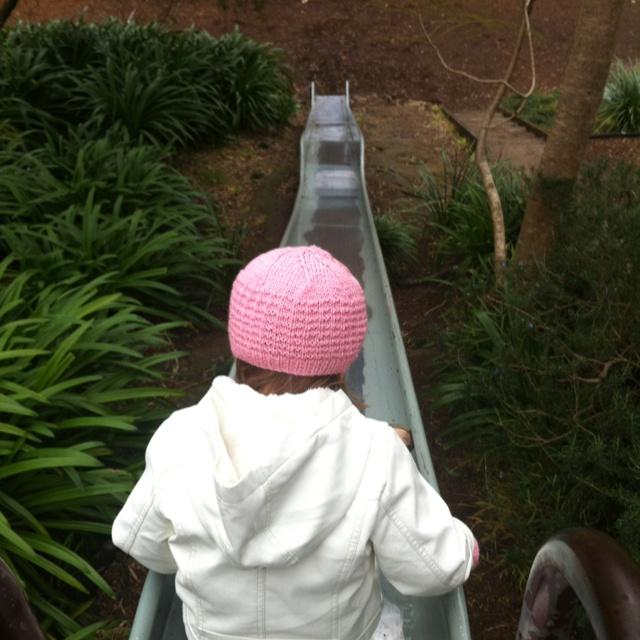 Watt Park, Sydney Harbour : the super-duper slide!