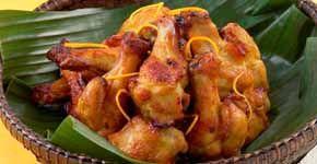 Retete asiatice - Pui aromat cu portocala la grill (6 portii)