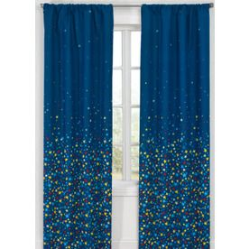 Star Curtains For The Closet Glow L Kids Rod Pocket Curtain Panel