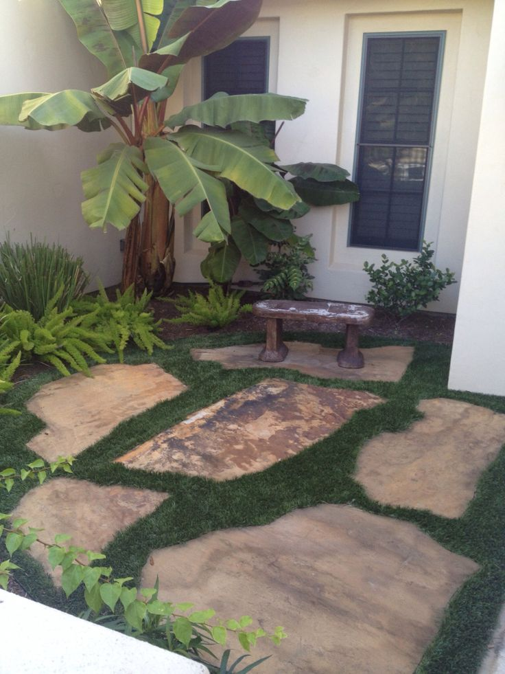 17 best images about front yard ideas on pinterest for San antonio landscaping ideas