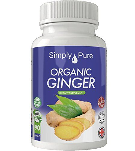 New - Exclusive to Amazon - Simply Pure - 90 Organic Ginger Capsules - High Strength (600mg) - Soil Association Certified - 100% Natural - Gluten Free - Vegan - Moneyback Guarantee - http://alternative-health.kindle-free-books.com/new-exclusive-to-amazon-simply-pure-90-organic-ginger-capsules-high-strength-600mg-soil-association-certified-100-natural-gluten-free-vegan-moneyback-guarantee/
