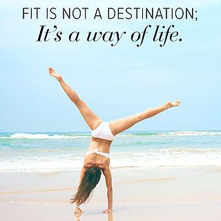 Fit is not a destination. Its a way of life.#fitskinforlife http://kingworkouts.com | amazing site for workouts THAT WORK!