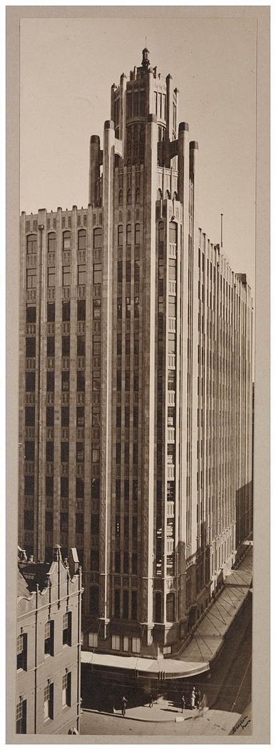 Grace Building, Sydney, Australia from the State Library of New South Wales Deco-gothic skyscraper in Sydney. The Wikipedia entry for the building shows it's had a distinguished history, originally a...