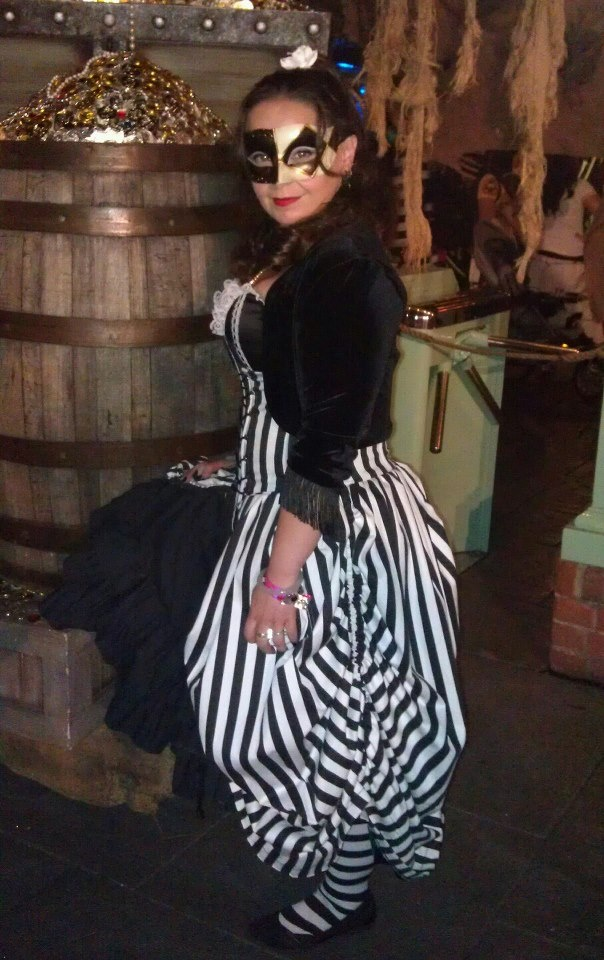 The Night Circus inspired this look from Disneylands Halloween Party