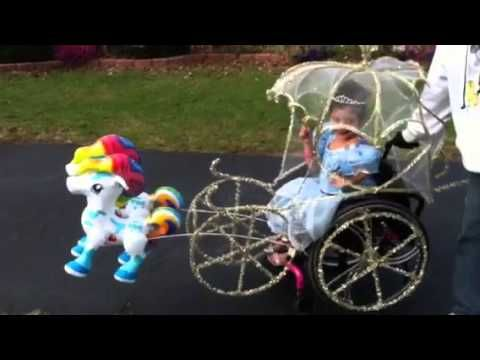 She's a Beautiful Princess in This Awesome Wheelchair Coach!